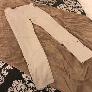 NWT VICTORIA'S SECRET Cream Leggings | Medium